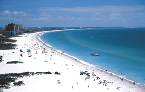 St Pete Beach Is A Barrier Island Community Stretched Out Along 4 5 Miles Of Sandy Beaches Its Permanent Resident Potion Just Over 10 000 Nearly